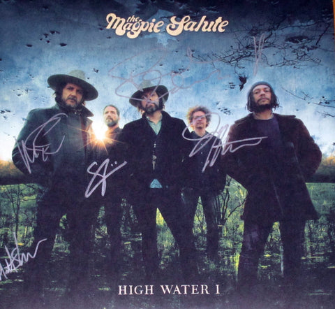 The Magpie Salute - High Water I  2xLP SIGNED Blue Wax
