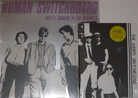 Human Switchboard - Who's Landing in My Hangar? LP + Debut 7""