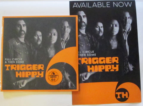 Trigger Hippy - Full Circle & Ten Some 2 LP + Promo Poster