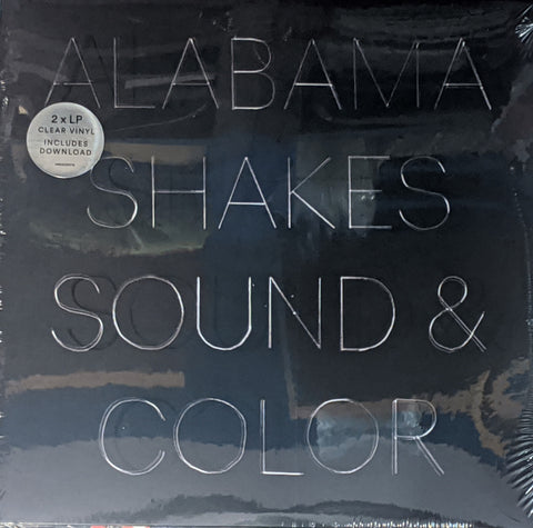 Alabama Shakes - Sound & Color 2 LP Clear Vinyl
