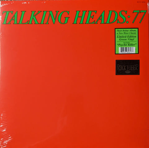 Talking Heads - 77 LP Ltd Green Vinyl Rocktober Edition