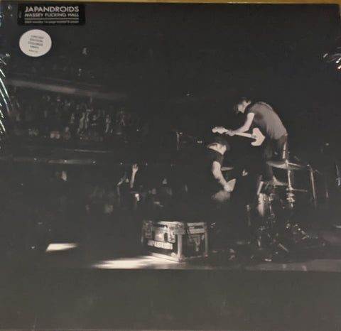 Japandroids - Massey Fucking Hall 2 LP w/ 16 Page Book & Poster Ltd Cherry Bomb Splash Vinyl