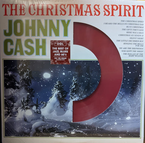 Johnny Cash - Christmas Spirit LP Ltd. Red Vinyl 180 gram HQ