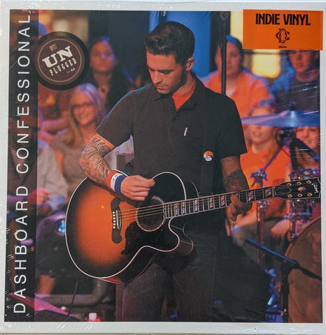 Dashboard Confessional - MTV Unplugged LP Indie Exclusive Red Burst Vinyl