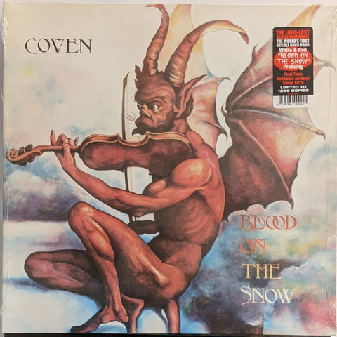 Coven - Blood On The Snow LP Ltd Orange Vinyl