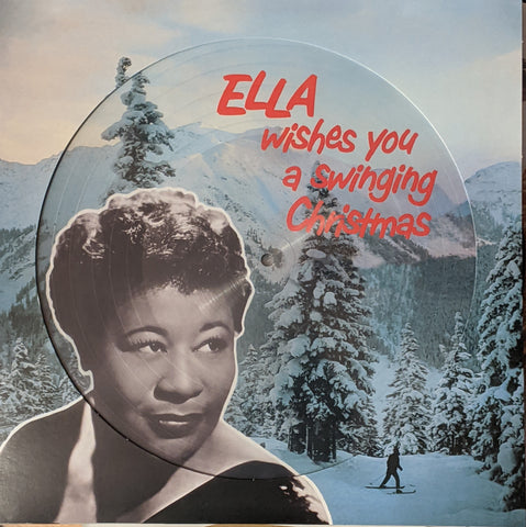 Ella Fitzgerald - Wishes You A Swingin' Christmas LP Ltd Picture Disc