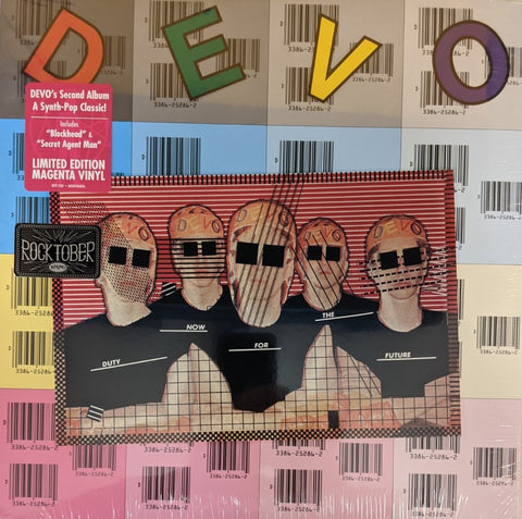 Devo - Duty Now For The Future LP Ltd Magenta Vinyl Rocktober Edition