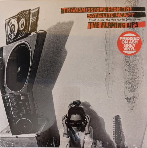 Flaming Lips - Transmissions From The Satellite Heart LP Ltd Ash Grey Vinyl