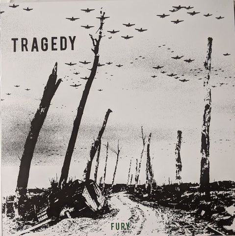Tragedy - Fury LP Ltd Green Vinyl