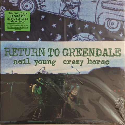 Neil Young & Crazy Horse - Return To Greendale 2 LP