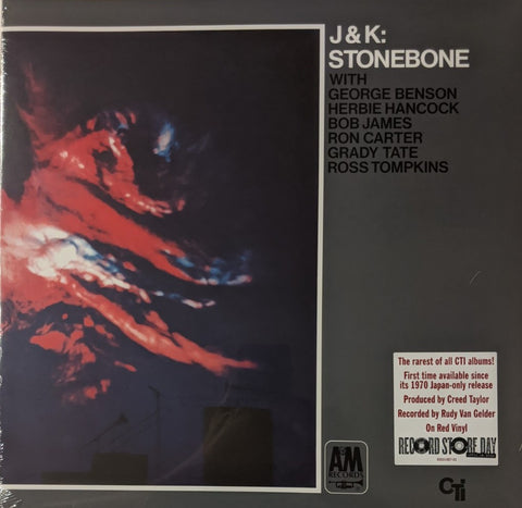 J&K - Stonebone LP Red Vinyl RSD 2020 Drop #3