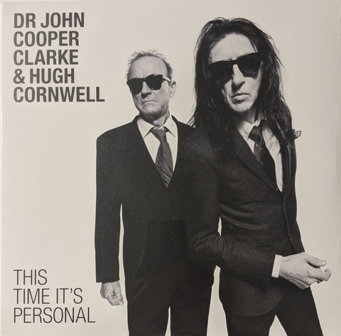 Dr. John Cooper Clarke & Hugh Cornwall - This Time It's Personal LP
