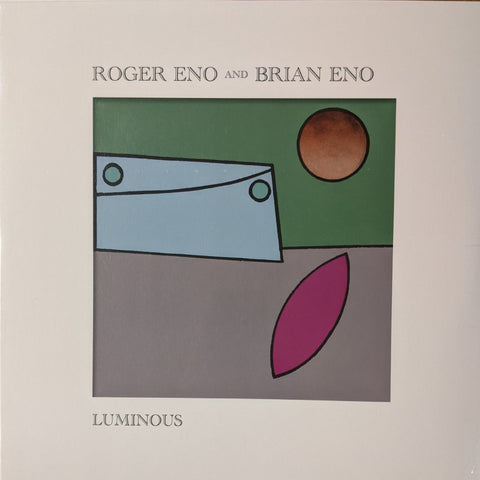 Brian & Roger Eno - Luminous LP German Import