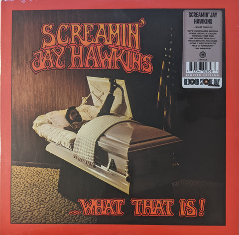Screamin' Jay Hawkins - ...What That Is! LP Ltd  Clear With Orange Vinyl