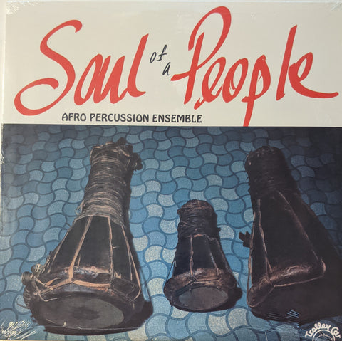 Afro Percussion Ensemble - Soul of A People LP