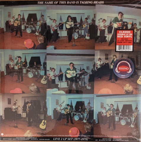 Talking Heads - Name of This Band Is ... 2 LP Ltd. Red Vinyl