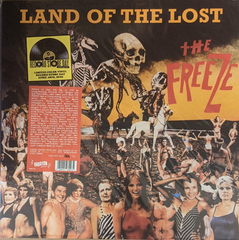 Freeze - Land on The Lost LP Ltd Orange Vinyl RSD 2020
