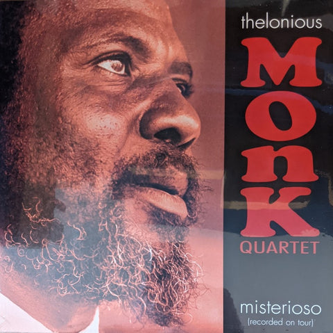 Thelonious Monk Quartet - Misterioso  (Recorded Live On Tour) LP