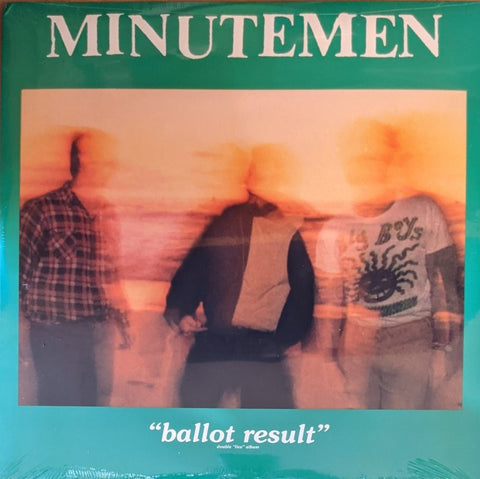 Minutemen - Ballot Result 2 LP