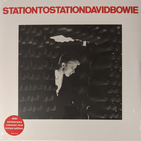 David Bowie - Station To Station LP Ltd 45th Anniv. Red Vinyl