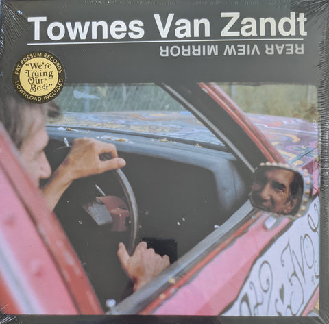 Townes Van Zandt - Rear View Mirror   2 LP