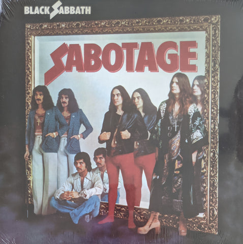 Black Sabbath - Sabotage LP 180 Gram Vinyl  EU Import