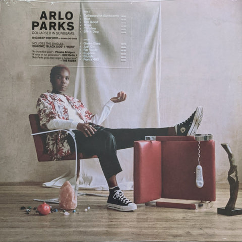 Arlo Parks - Collapsed In Sunbeams LP Ltd 180 Gram Deep Red Vinyl