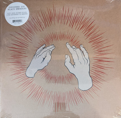 Godspeed You Black Emperor! - Lift Your Skinny Fists Like Antennas To Heaven 2 LP 180 Gram