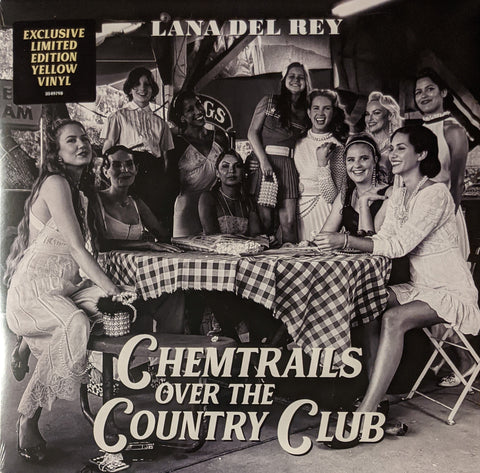 Lana Del Rey - Chemtrails Over The Country Club LP Ltd Yellow Vinyl