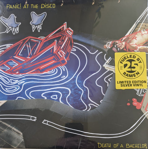 Panic! At The Disco - Death Of A Bachelor LP Ltd Silver Vinyl