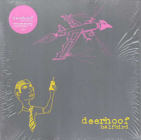Deerhoof - Halfbird LP Ltd. Ed. Pink & Yellow Spilt Vinyl