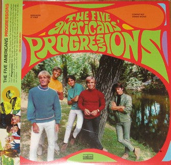 Five Americans - Progressions LP Ltd. Gold Vinyl