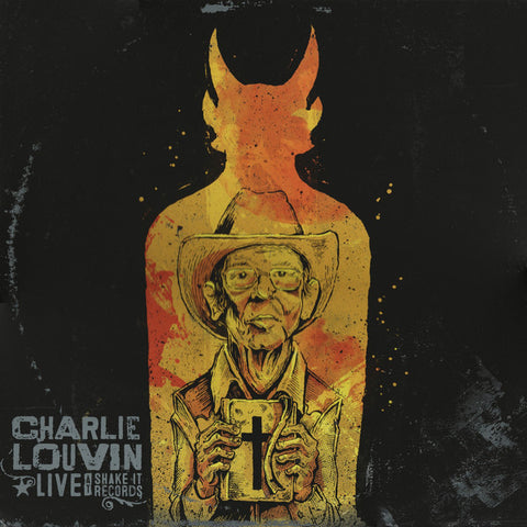 Charlie Louvin - Live at Shake It Records (LP)