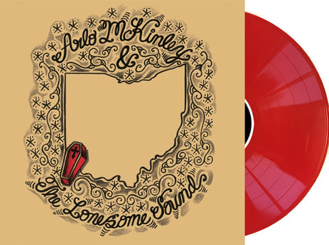 "Arlo McKinley & The Lonesome Sound - S/T LP Ltd Shake It Exclusive on ""Cincinnati Red"" Vinyl"