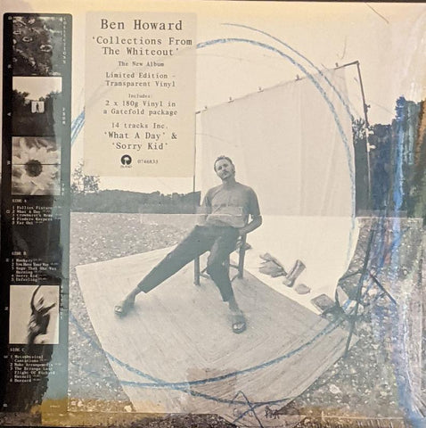 Ben Howard - Collections From The Whiteout 2 LP Ltd Transparent Vinyl
