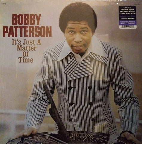 Bobby Patterson - It's Just A Matter of Time LP Ltd. Ed. Purple Vinyl