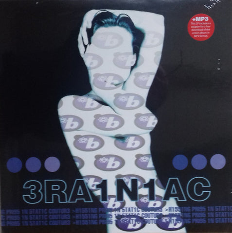 Brainiac - Hissing Pigs in Static Couture LP Ltd. Ed. Clear & Blue Vinyl