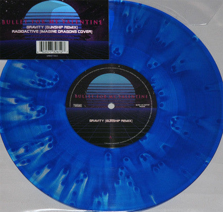 "Bullet For My Valentne - Gravity 10"" Ltd. Ed. Blue Splatter Vinyl"