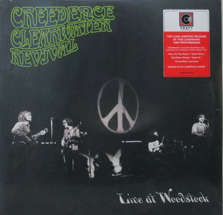 Creedence Clearwater Revival - Live At Woodstock 2 LP