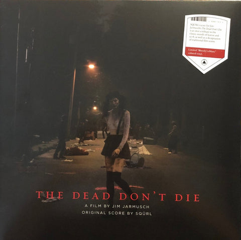 "Dead Don't Die OST LP Ltd. Ed. Indie Exclusive ""Bloody LeMans"" Vinyl"