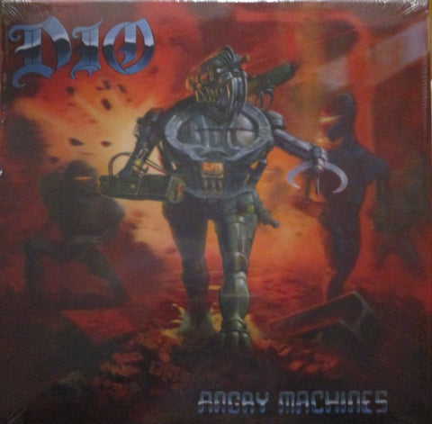 Dio - Angry Machines LP 180 gram 2020 Ltd. Lenticular Art Card Cover