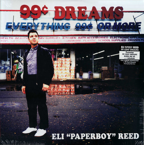 "Eli ""Paperboy"" Reed - 99c Dreams LP"