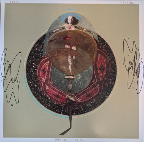 Elvis Perkins - Creation Myths LP SIGNED