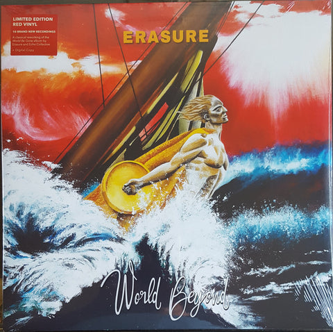 Erasure World Beyond LP Ltd. Ed. Red Vinyl