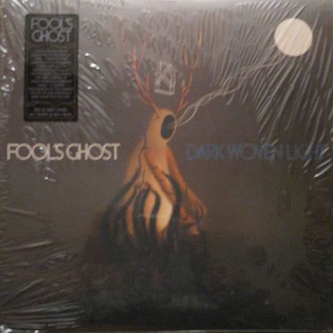 Fool's Ghost - S/T LP Ltd. Red & Grey Swirl w/ White & Tan Vinyl
