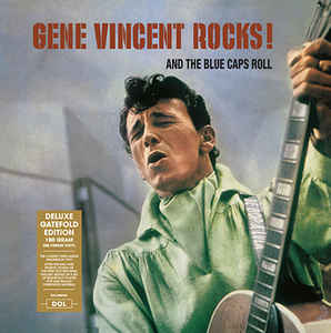 Gene Vincent - Rocks & The Blue Caps Roll LP 180 gram HQ Vinyl Gatefold
