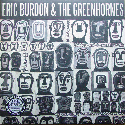 "Eric Burdon & the Greenhornes - S/T 12"" BF 2012"