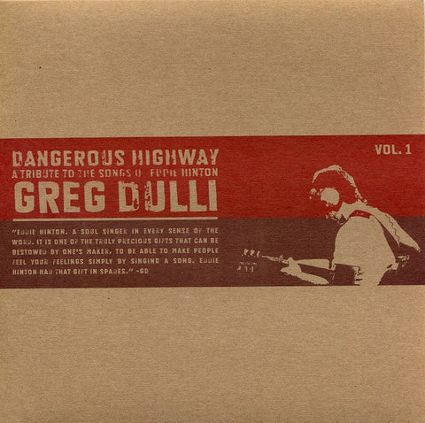 "Greg Dulli - Dangerous Highway Vol. 1 (7"")"