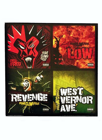 "Insane Clown Posse Set of 4 x 3"" Vinyl Set"