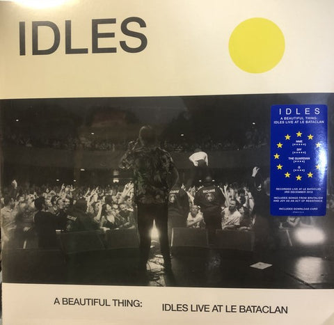 Idles - A Beautiful Thing: Live At Bataclan 2 LP
